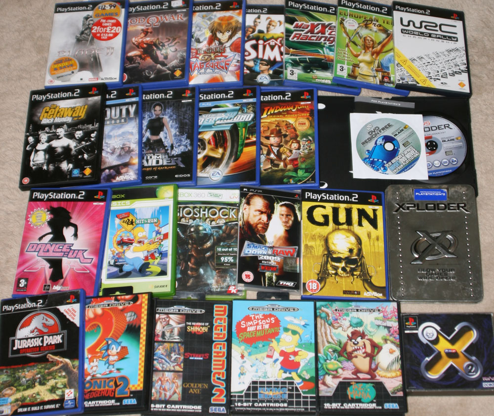 ps2 games collection download